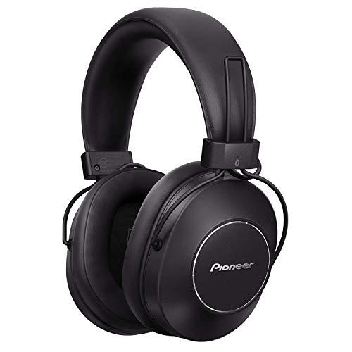 Pioneer S9 Over-Ear Bluetooth Kopfhörer (Noise Cancelling Headset, Sprach Assistent, bis zu 24 Stunden Akkulaufzeit, Freisprechfunktion, NFC, Hi-Res Audio, hoher Tragekomfort), Schwarz