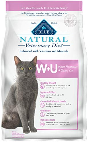 Blue Buffalo's Natural Veterinary Diet Weight Management + Urinary Care