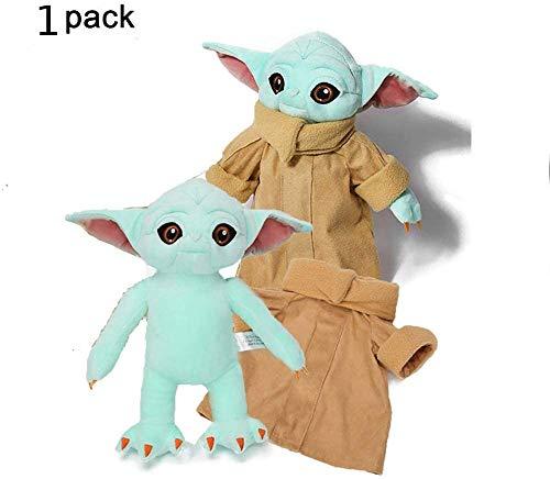CTNZ Baby Yoda Stofftier,Baby Yoda Kuscheltier,The Mandalorien Plüschtiere Weiche Stoffpuppen 30 cm