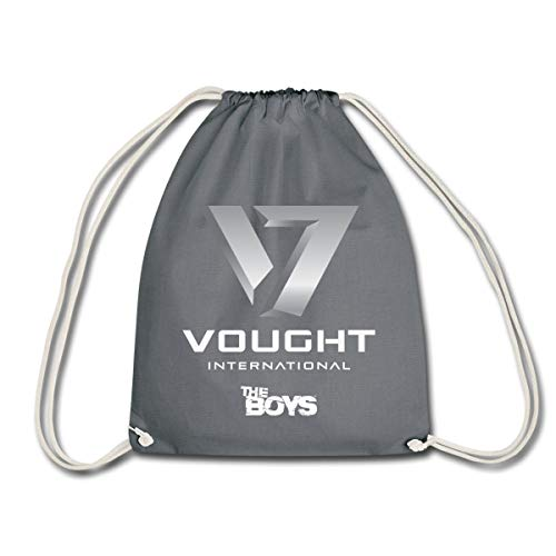 Spreadshirt The Boys Vought International Drawstring Bag, grey