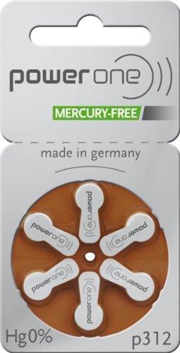 Varta Powerone p312 - Pilas para audífonos (30 Unidades, sin Mercurio)