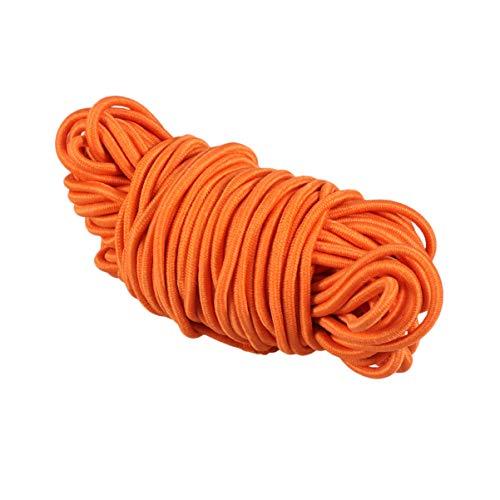 VORCOOL 10M 3Mm Cuerda Elástica Cordón de Cuentas Hilo Elástico Cordón de Tela Cordón Artesanal para Manualidades Sombreros Menús Insignias Carteles Encuadernación Joyería Fabricación