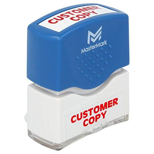 Customer Copy Stamp � MasterMark Premium Pre-Inked Office Stamp