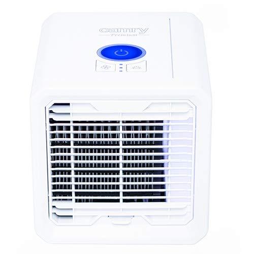 Camry CR-7321 Ventilator Luftbefeuchter Kompakt per USB, LED-Beleuchtung, leise, Weiß