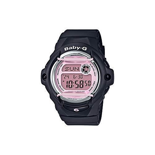 Casio G-Shock Baby-G BG169M-1 Reloj de cuarzo de resina rosa para mujer