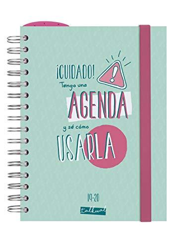 Finocam - Agenda 2019-2020 1 día página español Talkual...