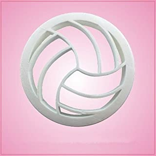 Detailed Volleyball Cookie Cutter