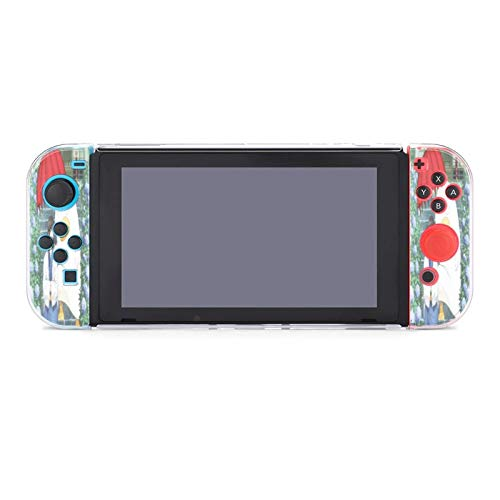 Ginta-ma Case for Nintendo Switch Ultra Slim Carrying Cover with Shock-Absorption and Anti-Scratch Design