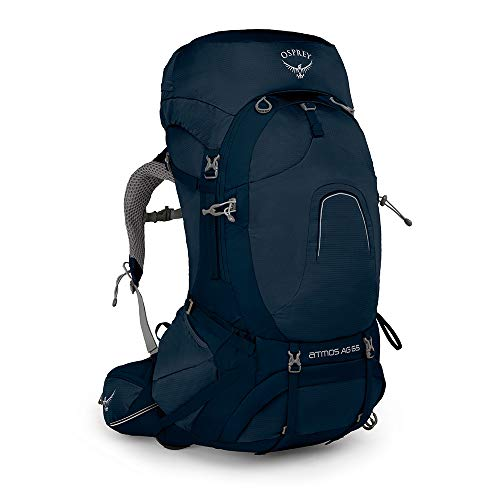 Osprey Europe Atmos AG 65 Men's Backpacking Pack - Unity Blue (LG)
