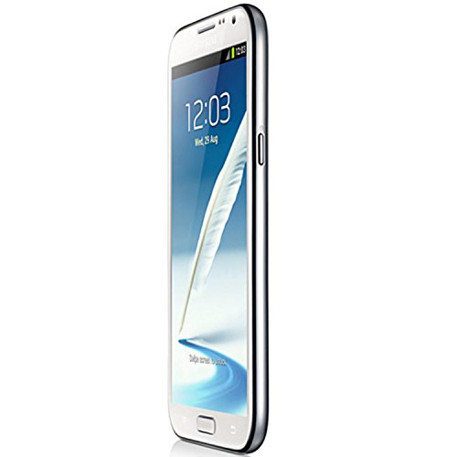 Samsung Galaxy Note 2 II N7105 (White) Factory Unlocked Smartphone - International Version, 16GB, LTE/4G BANDS 800/900 / 1800/2600 MHz