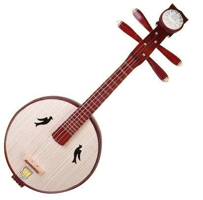 Hohe Qualität Xiao Ruan Instrument Chinese Mandoline Ruan mit Zubehör