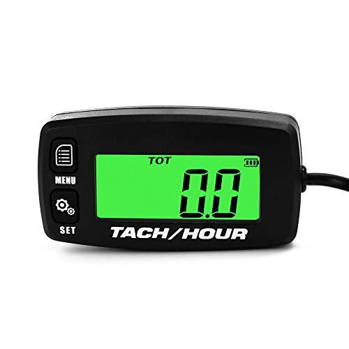 Tacómetro digital portátil, Contador de horas Alarmas de