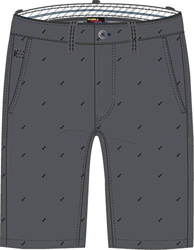 ONeill LM Friday Night Chino SHORTS-8990 Grey AOP W/BLACK-32 szorty, szaro-czarny, 32