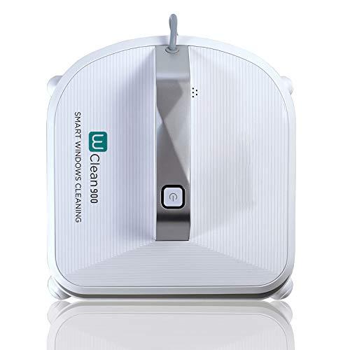 Novohogar Scheibenreiniger W-Clean900, 75 W, 70 dB. Intelligente Navigation. 3 Reinigungsmodi, Schüttelfunktion und Fensterrahmendetektor. Starker Halt am Fenster durch Saugkraft.