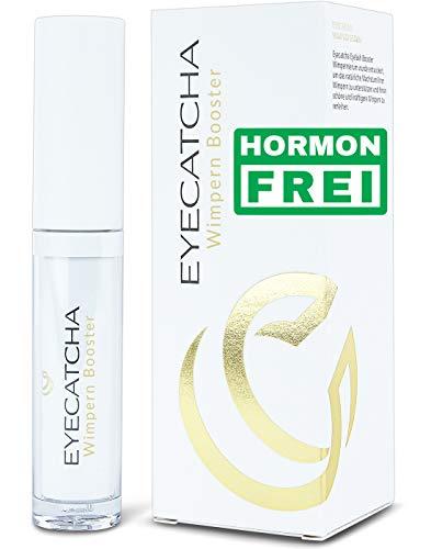 Eyecatcha Wimpern Booster Wimpernserum hormonfrei - für längere Wimpern mit Black Sea Rod Oil –...