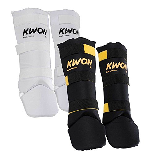 Kwon Schienbein- und Spannschutz Muay Thai Junior weiß