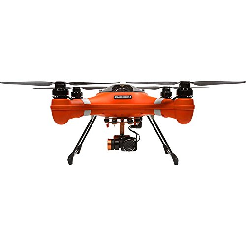 Swellpro Waterproof Splash Drone 3 Auto with 4K HD Camera Live Video and GPS