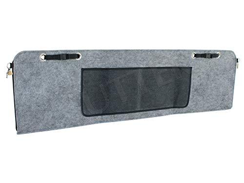 SUTTER PKW Gewehrtasche aus Filz - 120x35cm - Abschließbare Waffentasche (Gewehrfutteral)