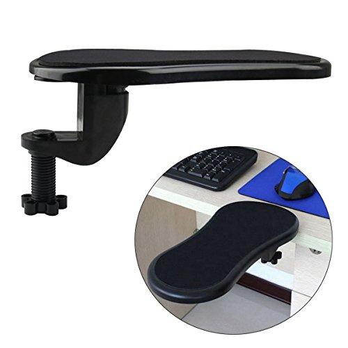 Cusfull Armlehnen Armauflage PC Laptop Unterarm Unterstützung für komfortable Arbeit am Computer Handgelenkauflage Einstellbar