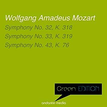 Green Edition - Mozart: Symphonies Nos. 32, 33 & 43