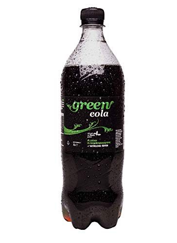 Green Cola - inkl.Pfand   1L   natürliches Koffein   Grüne Kaffeebohne   ohne Zucker   Buxtrade   18 Flaschen