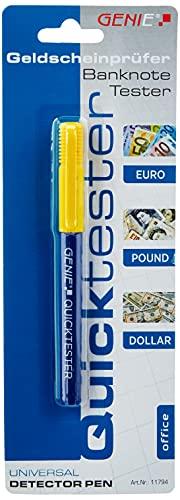 Genie Quicktester Geldscheinprüfstift (unkomplizierter Schutz vor Falschgeld)