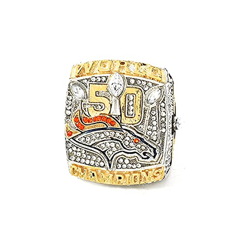 TYTY 2015-2016 Super Bowl Denver Bronco Championship Ring Anillos de Campeonato...