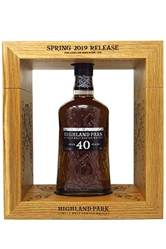 Highland Park - Single Malt Scotch - Spring 2019-40 year old Whisky