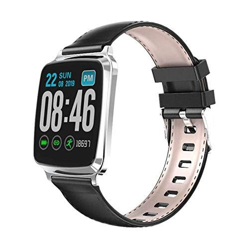 Pulsera Actividad Reloj Inteligente Impermeable,Brazalete Fitness con Pantalla LCD a Color IPS de 1.3 Pulgadas,monitoreo La Salud del Sueño,Soporte para Uso en Varios Países