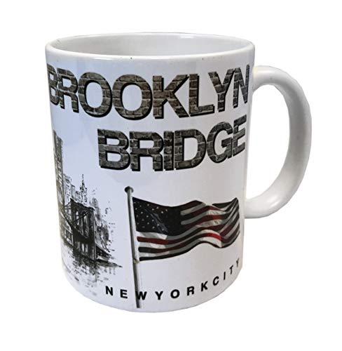 DESSAPT EDITIONS L ART DU SOUVENIR Mug New York Brooklyn- Collection Souvenirs de New York - Made in France