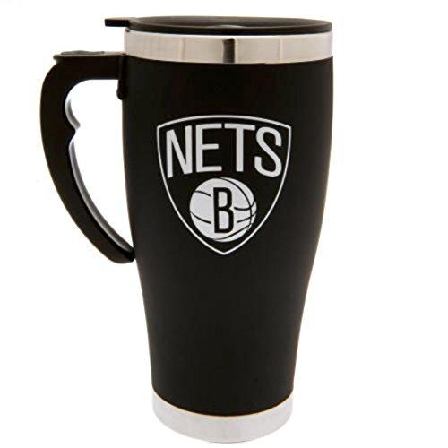 Forever Collectibles NBA Basketball Brooklyn NETS Thermobecher Travel Mug Kaffeetasse Tasse