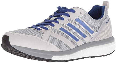 adidas Women's Adizero Tempo 9 Running Shoe, Grey/Real Lilac/Mystery Ink, 8 M US