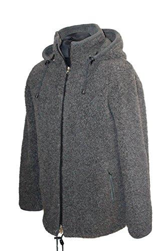 Karbaro Jacke aus Schafwolle mit Kapuze (XXXL)