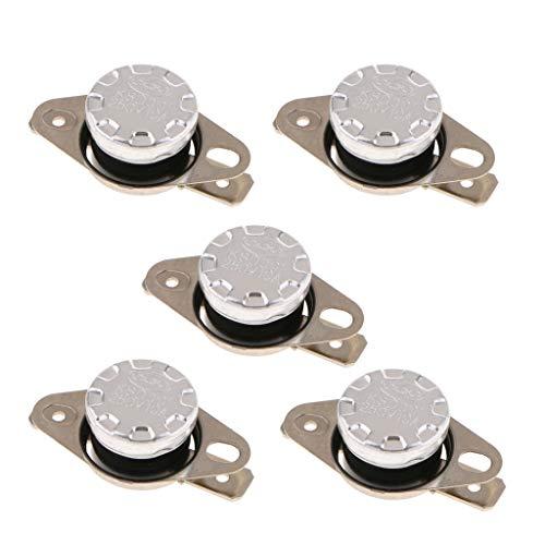 5 Pcs KSD301 Interruttore Termico Normalmente Aperto Distributore Acqua Protezione Elettrodomestici - 40 ℃