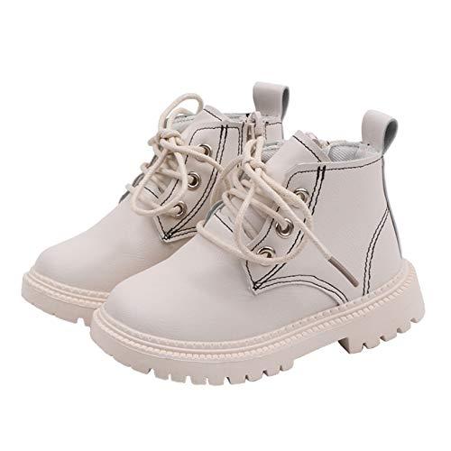 Invierno 2020 Calzado Deportivo para niños Botas Desnudas Botas para la Nieve para niños y niñas Felpa Moda Cremallera Lateral de Goma Botas Planas Antideslizantes para niños pequeños