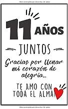 Diario Personal: Regalos Para Bodas De 11 años - Cuaderno De Notas - Regalo De Aniversario Para Novio, Novia, Esposo, Esposa, Mujer u Hombre - Celebrando 11 Años (Spanish Edition)