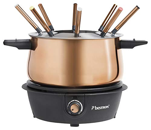 Bestron Copper Collection Fondue eléctrica, 1500 W