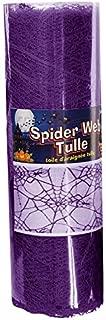 Forum Novelties Purple Spider Web Tulle 5Yds