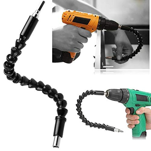 Buy Discount MG554zy0 295mm Universal Flexible Shaft Extension Screwdriver Drill Bits Holder Link Un...