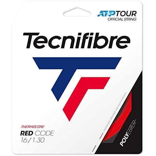 Tecnifibre - Corda da Tennis-PRO Redcode 1.30 Adulto, Unisex, Colore: Rosso