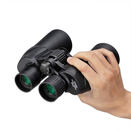 ZYDZ Binoculares 10x50 Camping Camino Nunca Visión Noche Binoculares Deportes al Aire Libre HD A Prueba de Agua Potentes binoculares