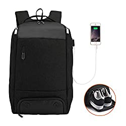 marsbro best bag for gym and work black