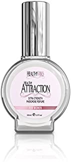 Healthy Attraction Sensual Pheromone Oil Infused Perfume for Women - Made with Andronone and Copulandrone Pheromones for Maximum Sexual Attraction - 1 Fl Oz Glass Bottle