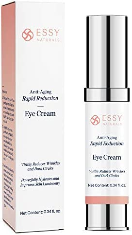 EssyNaturals Anti Aging Rapid Reduction Eye Cream Visibly and Instantly Reduces Wrinkles Under product image