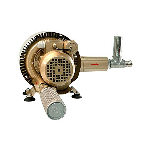 Regenerative Blower Kit EKZ 103-36 | Pressure or Vacuum applications | Includes SS Relief Valve and Intake Filter | Quiet Operation | No Maintenance Required - Oil Free | Life by Air!