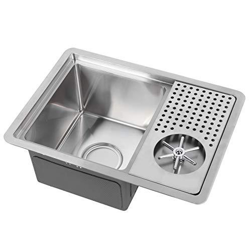 Limpiador de taza de bar, accesorio de cocina Lavadora de taza para cafetería para tienda de té de leche (8P-10 (no equipado con grifo))