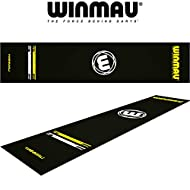 Winmau Xtreme Heady-Duty Dart Mat Professional, heady-duty dart mat with official tournament specification oche measurements Durable mat suitable for both home and pub or club use Branded, styled and coloured to bring life to any darts set up Brings ...