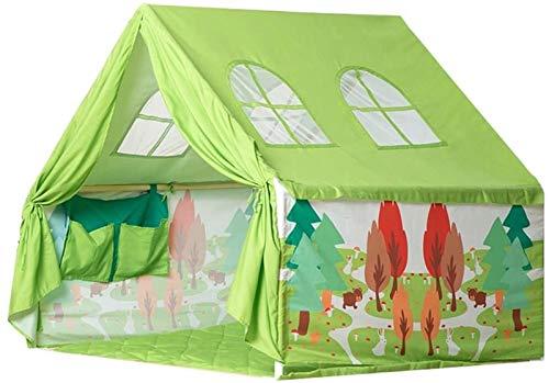 SHUNFENG-EU Green Children's Play Play Tent Outdoor Interior Game Sala de Juegos Chico Juguete Casa Niña Princesa Castillo Tienda Tienda de jardín, Sala de Juegos con Windows