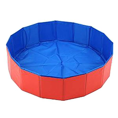 LUXEHOME Foldable Dog Pet Swimming Pool Bathing Tub