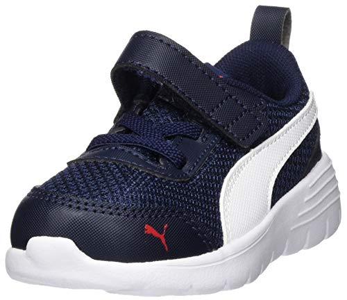 Puma Unisex Baby Flex Renew Ac Inf Sneaker, Blau (Peacoat White 03), 23 EU